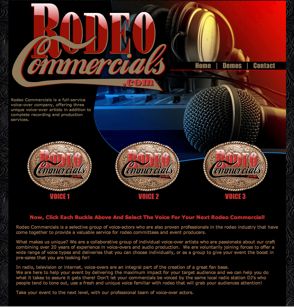 Rodeo Commercials - Rodeo Announcers
