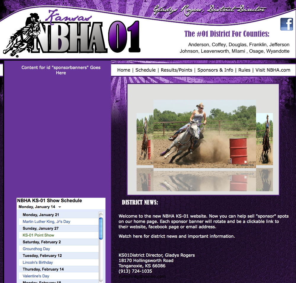 NBHA websites - KS01