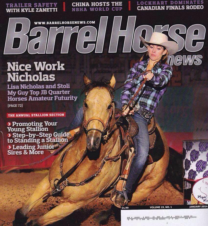 Barrel Wrap as seen on barrel horse news