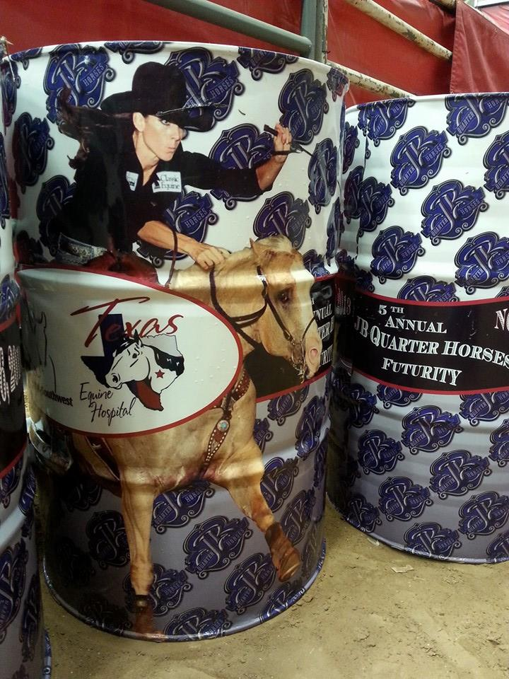 JB Quarter Horses Barrel