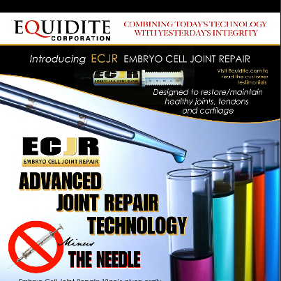 equidite ad - barrel horse news