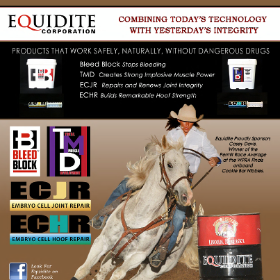 equidite ad Dec 2012 barrel horse news