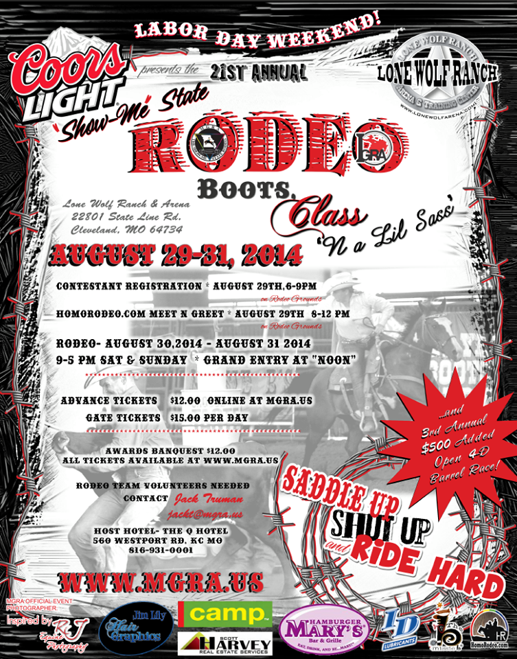 MGRA ANNUAL RODEO SHOWBILL