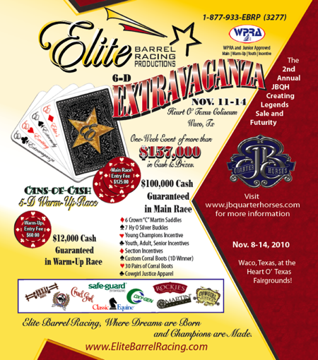 Elite Barrel Racing Waco, TX November Barrel Race